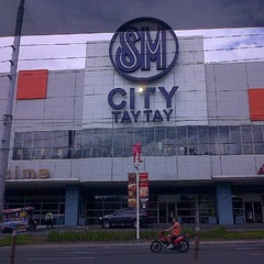 Photo taken at SM City Taytay by Shiela T. on 12/15/2012