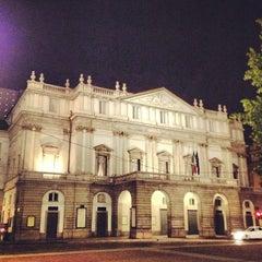 Photo taken at Teatro alla Scala by Antonio G. on 5/29/2013