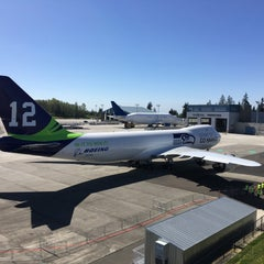 Photo taken at The Boeing Co. by Jack S. on 4/9/2016