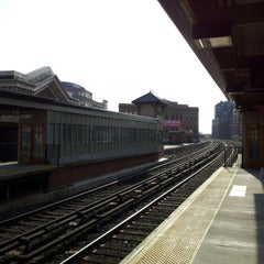 Photo taken at Yonkers Train Station - Metro North & Amtrak by Xander R. on 12/3/2012