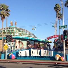 Photo taken at Santa Cruz Beach Boardwalk by Tiara D. on 5/25/2013