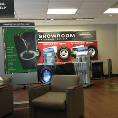 Photo taken at Firestone Complete Auto Care by Brian on 6/26/2013
