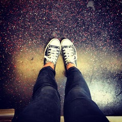 Photo taken at MTA Subway - J Train by Danielle C. on 6/2/2013