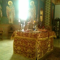 Photo taken at St Nicholas Greek Orthodox Church by Demetrios K. on 12/1/2013