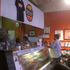 Photo taken at Mudgie's Deli by Zana S. on 10/26/2012