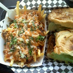 Photo taken at LA Burger by Charles E. on 1/26/2012