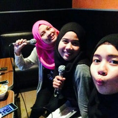 Photo taken at Green Box Karaoke by syazwani K. on 5/14/2015