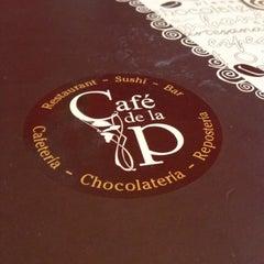 Photo taken at Café de la P by Alex D M. on 11/30/2012