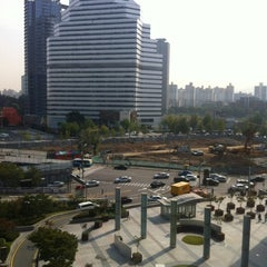 Photo taken at 아이파크몰 (I'Park Mall) by Jeff Y. on 10/13/2012