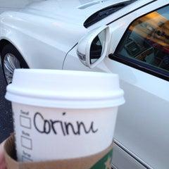 Photo taken at Starbucks by Corinne s. on 9/26/2013
