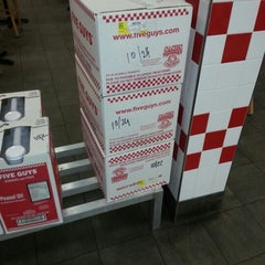 Photo taken at Five Guys by Mr Stone P. on 11/5/2012