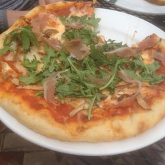 Photo taken at Katie's Pizzeria Cafe by Brandon B. on 5/22/2014
