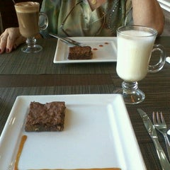 Photo taken at Dom Cacao - Café e Chocolate by Fernanda T. on 9/20/2012