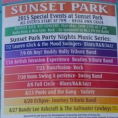 Photo taken at Sunset Park by Robert B. on 7/30/2015
