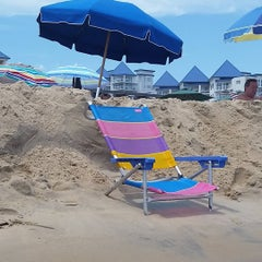 Photo taken at 59th St Beach by Robert B. on 8/5/2015