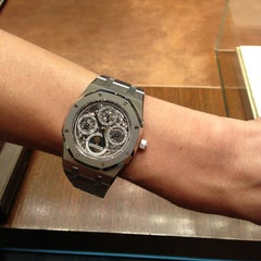 Photo prise au Audemars Piguet Boutique par Elena le6/20/2013