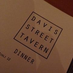 Photo taken at Davis Street Tavern by Douglass R. on 12/2/2012