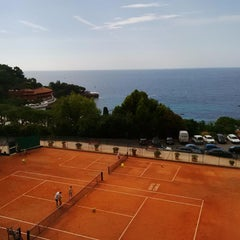 Photo taken at Monte-Carlo Country Club by Valentina C. on 7/30/2015