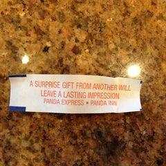 Photo taken at Panda Express Gourmet Chinese Food by Brooks J. on 5/23/2013