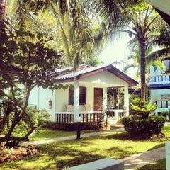 Photo taken at Sabai Resort by Melo C. on 11/4/2013