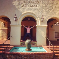 Photo taken at Oaks at Ojai by Alexandra W. on 8/10/2014