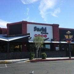 Photo taken at Sushi Garden Restaurant by Tim S. on 12/20/2012