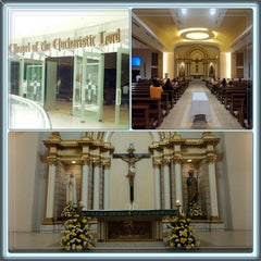 Photo taken at Chapel of the Eucharistic Lord by Jr V. on 8/10/2013