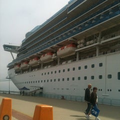 Photo taken at Sapphire Princess by Pau R. on 5/3/2013