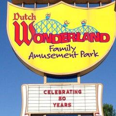 Photo taken at Dutch Wonderland by Brian Z. on 8/5/2013