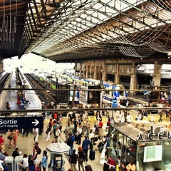 Photo taken at Gare SNCF de Paris Nord by Louie C. on 7/17/2013
