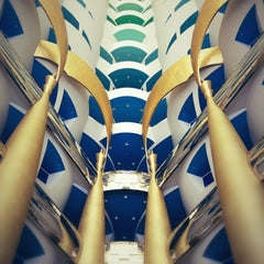 Photo taken at Burj Al Arab by Sabrina on 10/1/2012