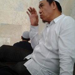 Photo taken at Masjid Agung Sudirman by Dzar A. on 9/8/2014