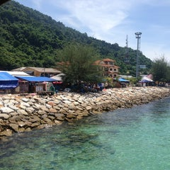 Photo taken at Watercolours Resort & Dive Centre by Saiful Hafizi C. on 5/25/2013