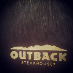 Photo taken at Outback Steakhouse by kade h. on 3/14/2013