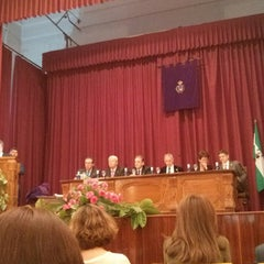 Photo taken at Escuela Politécnica Superior de Sevilla by Pablo B. on 4/27/2014