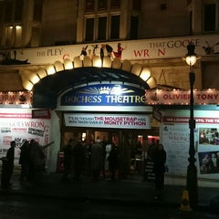Photo taken at Duchess Theatre by Ryan on 12/31/2015