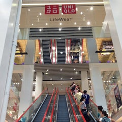 Photo taken at UNIQLO 5th Ave by Brian G. on 7/14/2013