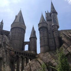 Photo taken at Harry Potter and the Forbidden Journey / Hogwarts Castle by Robyn O. on 6/23/2013