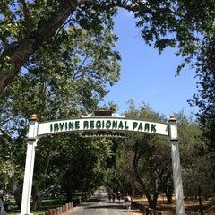 Photo taken at Irvine Regional Park by Alan K. on 5/26/2013
