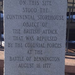 Photo taken at Bennington Monument by Calvin Y. on 3/10/2013