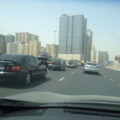 Photo taken at Dubai - Sharjah Road by moh h. on 4/16/2015