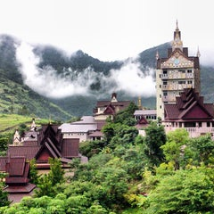 Photo taken at ภูลู่ลมรีสอร์ท (Bhuloolom Resort) by ประกาศิต ว. on 7/22/2013
