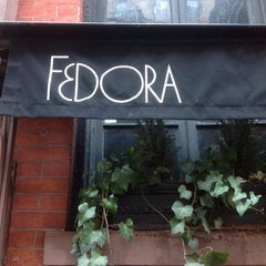 Photo taken at Fedora by Michael S. on 4/9/2013