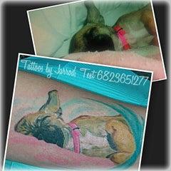 Photo taken at Psycho Clown Tattoo by Jarrod R. on 2/20/2014