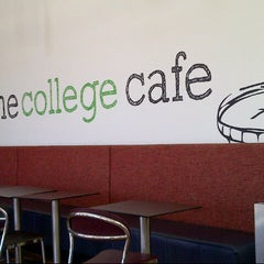 Photo taken at The College Cafe by Michael F. on 11/28/2013
