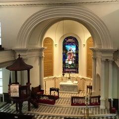 Photo taken at St. John's Lutheran Church by Sheila T. on 11/22/2015