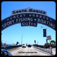 Photo taken at Santa Monica Pier by Albert E. on 5/29/2013