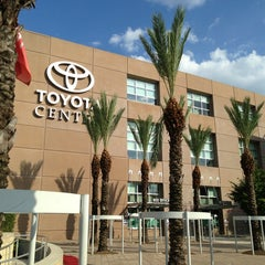 Photo taken at Toyota Center by Dominique T. on 7/1/2013
