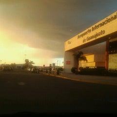 Photo taken at Aeropuerto Internacional de Guanajuato (BJX) by Kemish T. on 10/24/2012