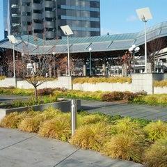 Photo taken at Bellevue Transit Center by Mohamed M. on 11/9/2012